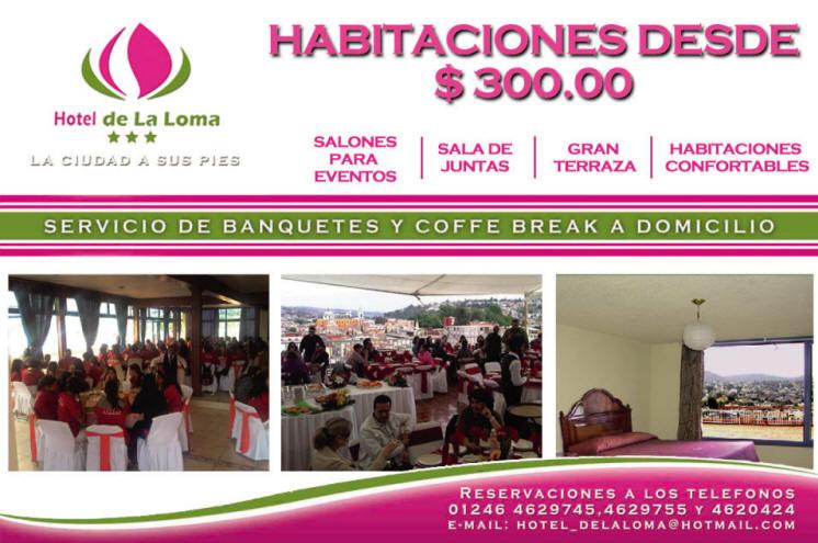 Promocion Hotel La Loma